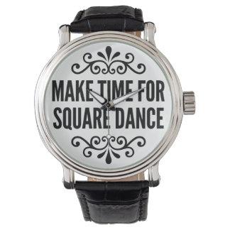 Make time for Square Dance Watch