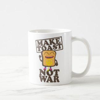 Make toast emergency was basic white mug