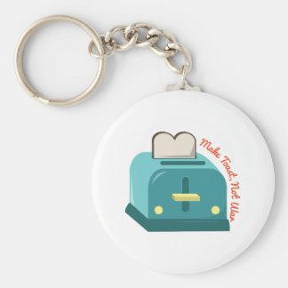 Make Toast Key Ring