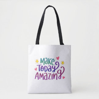 Make Today Amazing All-Over-Print Tote Bag