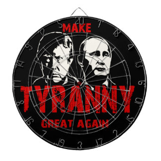 Make tyranny great again dartboard