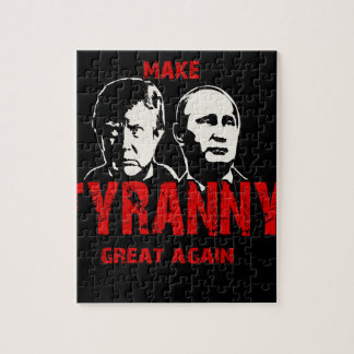 Make tyranny great again jigsaw puzzle