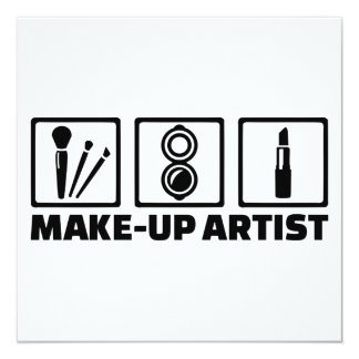 Make-up artist card