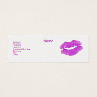 """Make-up Artist"" I Profile Card - Customisable"
