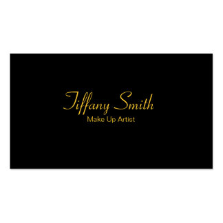 Make Up Artist Pack Of Standard Business Cards