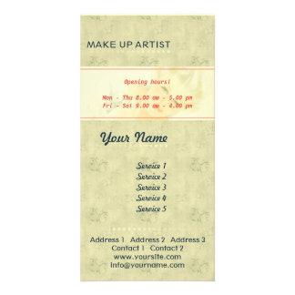 Make Up Artist - Photocard Service Card Photo Card