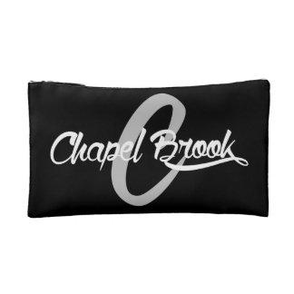 make up bag w/ b/w chapel brook logo