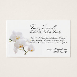 Make up, Beauty and Nails Business Card