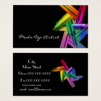 make_up_business business card