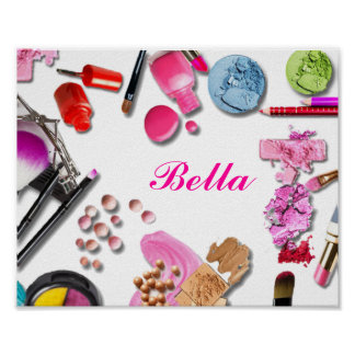 Make Up Girl Poster customize
