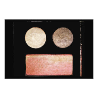 Make-Up Palette-Face Photo Art