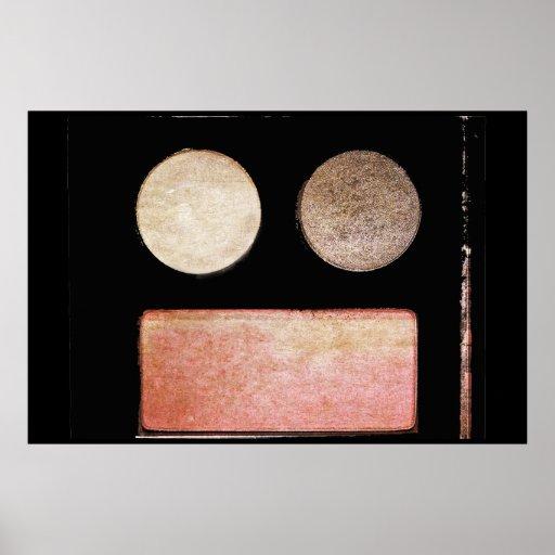 Make-Up Palette-Face Poster