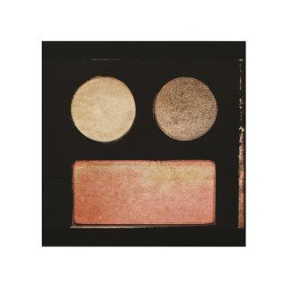 Make-Up Palette-Face Wood Prints