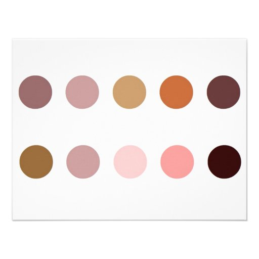 Make-up Palette Personalized Announcements