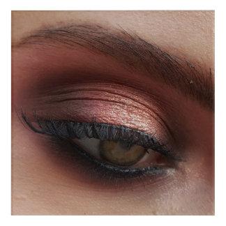 Make up store acrylic print
