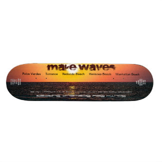 Make Waves Ltd. and Numbered South Bay Sidewalk Su Skate Board Deck