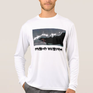Make Waves Men's Pipeline Performance Micro-Fiber  T-Shirt