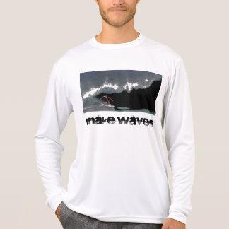 Make Waves Men's Pipeline Performance Micro-Fiber  Tees