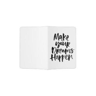 Make Your Dreams Happen Passport Holder