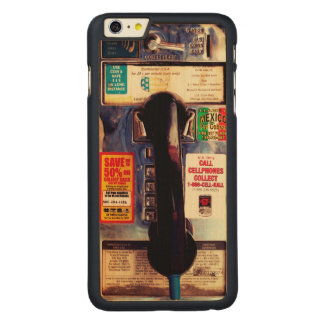 Make Your iPhone Look Like An Old Pay Phone Carved® Maple iPhone 6 Plus Case