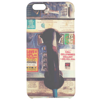Make Your iPhone Look Like An Old Pay Phone Clear iPhone 6 Plus Case