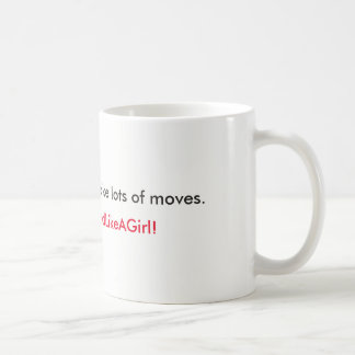 Make your move coffee mug