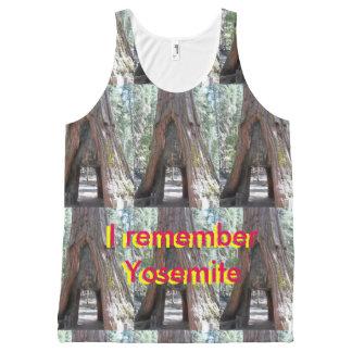 Make your own ALLOVER Yosemite print tanktop All-Over Print Singlet
