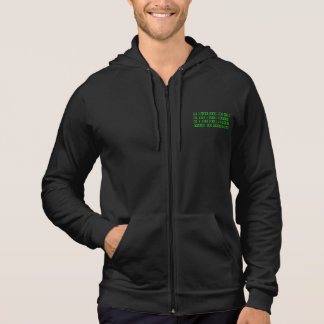 Make your own binary hoodie