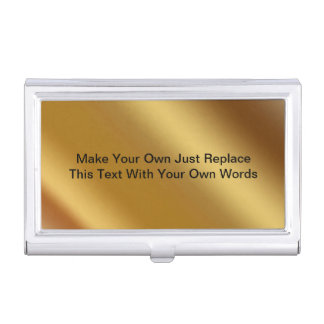 Make Your Own Business Card Holder