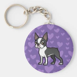 Make Your Own Cartoon Pet Basic Round Button Key Ring