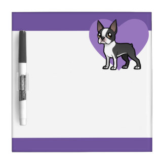 Make Your Own Cartoon Pet Dry Erase Board