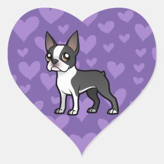 Make Your Own Cartoon Pet Heart Sticker