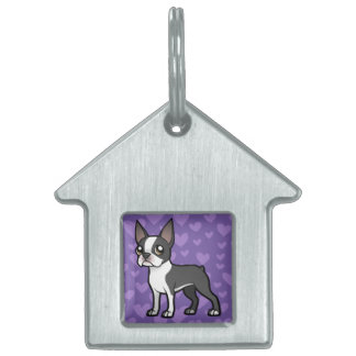 Make Your Own Cartoon Pet Pet ID Tags