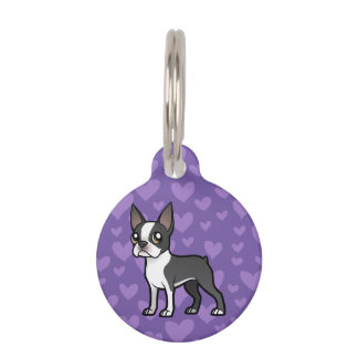 Make Your Own Cartoon Pet Pet Tag