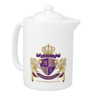 Make Your Own Coat of Arms Monogram Crown Emblem