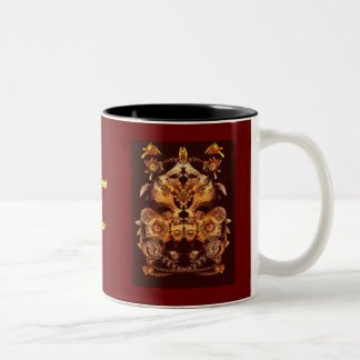 Make your own crest Two-Tone mug