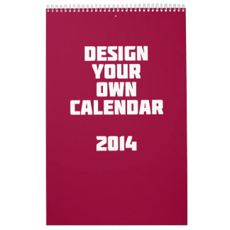 Make it yourself calendars make it yourself wall calendar designs make your own custom calendar 2014 solutioingenieria Images