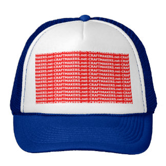 Make Your Own Custom Hat - Blue