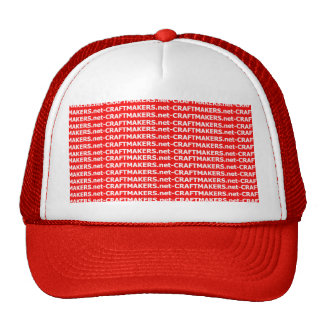 Make Your Own Custom Hat - Red