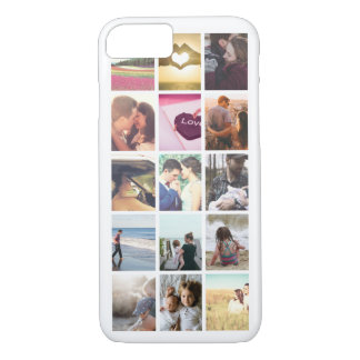 Make your own custom instagram photo collage iPhone 8/7 case