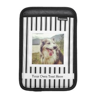 Make Your Own Custom Instagram Photo Stripes iPad Mini Sleeves