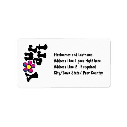 Make your OWN customised Business or Personal Address Label