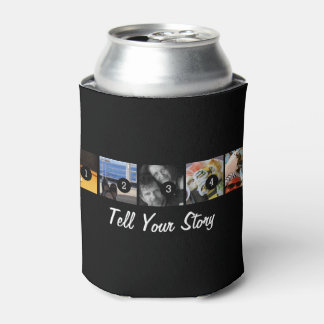 Make your own decor easily with 5 images on a can cooler