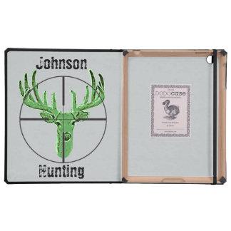 Make Your Own Deer Hunting Logo iPad Folio Cases
