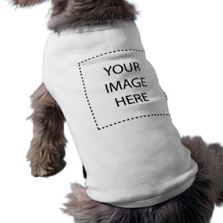 Make Your Own Design Sleeveless Dog Shirt