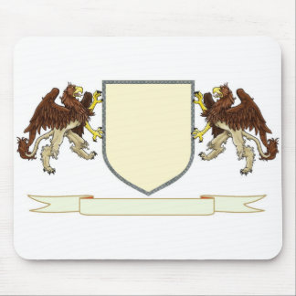 Make Your Own Family Crest Mouse Pad