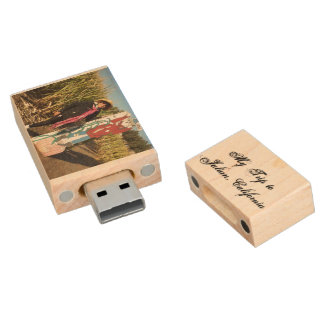 Make Your Own Flash Drive 8GB -3.0GB Wood USB 2.0 Flash Drive