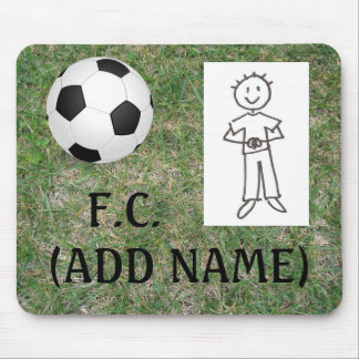 Make your own Football Club Mousepad