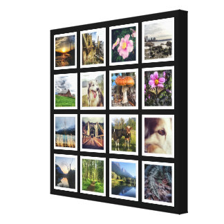 Make Your Own Gallery Style Instagram Photo Grid Gallery Wrap Canvas