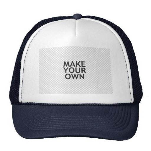 Make Your Own in One Easy Step! Hat